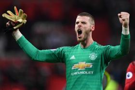 David de Gea earned praise all round after his 11 saves helped Manchester United pip Tottenham Hotspur 1-0.