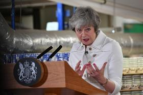 May says lawmakers opposing her deal may kill Brexit altogether