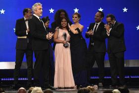 Roma wins top prizes at Critics' Choice Awards