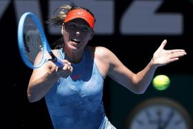 Sharapova has Dart crying after 6-0, 6-0 rout