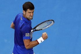 Djokovic in-form in opener