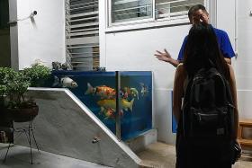 HDB orders removal of unusual fish tank