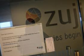 The Singapore Tourism Board said Zuji Travel's licence lapsed on Dec 31, 2018, and it can no longer provide travel products and services here.