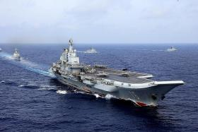 Report: China leads world in some military tech