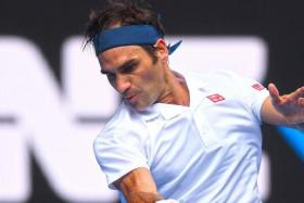 Roger Federer (above) will meet American Taylor Fritz in the third round.