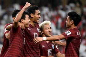 Thailand will face China in the Asian Cup's Round of 16 on Sunday.
