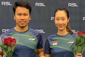 Danny, Tan win mixed doubles title in Sweden