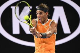 Ruthless Nadal stuns Tsitsipas and himself