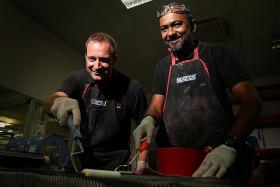Meet the head chefs of carbon fibre in the motorsport arena