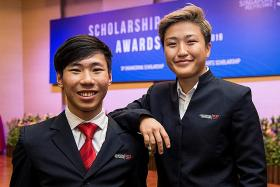 Singapore Poly scholars overcome the odds