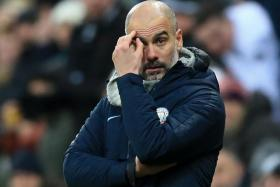 Pep Guardiola said they weren't aggressive enough against Newcastle United.