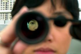 File photo of a private investigator.