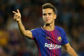 Denis Suarez is set to make his Arsenal debut against his former club Manchester City.