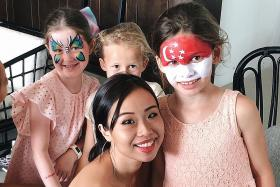 Student's face-painting firm flourishes after she overcomes insecurity