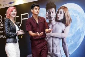 Nathan Hartono shows off hot bod in When Ghost Meets Zombie