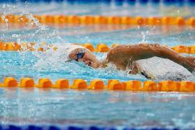 Quah Ting Wen breaks women's 100m free national record