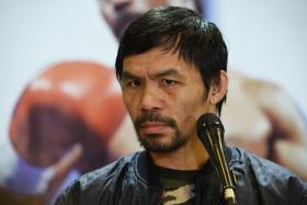 Pacquiao tells son: You don't need to be a boxer