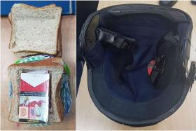 Man caught trying to smuggle cigarettes in bread loaf