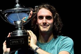 Tsitsipas clinches second ATP title in Marseille