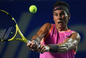 Nadal eases past Zverev in Mexican Open, meets Kyrgios today