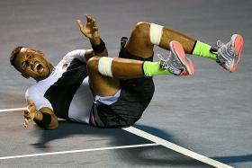 Kyrgios hits back at Nadal after ousting the Spaniard at Acapulco