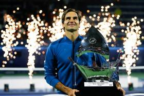 Roger Federer claimed his 100th ATP title after defeating Stefanos Tsitsipas.