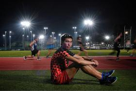 Soh seeking to break national marathon record