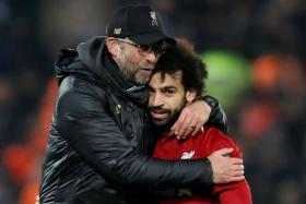 Liverpool manager Juergen Klopp is not worried over Mohamed Salah's goal drought.