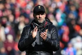 Juergen Klopp 's next task is the Champions League last-16, second leg at Bayern Munich.