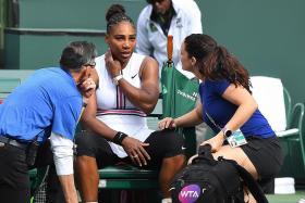 Illness ends Serena's Indian Wells hopes