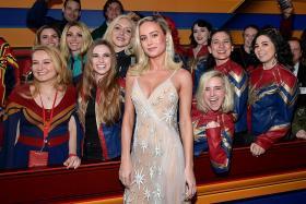 Captain Marvel soars to $208m debut