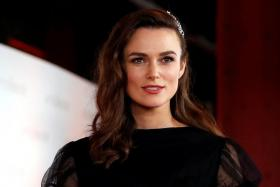 Keira Knightley (above) plays Rachael Morgan in The Aftermath.
