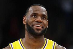 Los Angeles Lakers star LeBron James.
