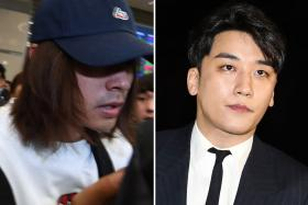 Another star quits in K-pop sex scandal