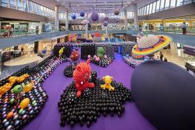 Marina Square's balloon exhibition takes you out of this world