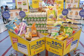 FairPrice to freeze prices of 100 house brands for next 15 months
