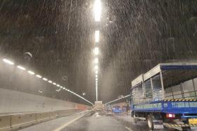 Sprinklers accidentally activated along MCE tunnel