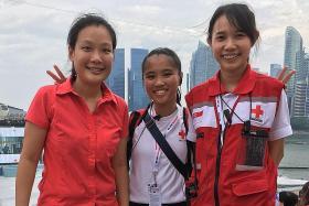Red Cross volunteer balances studies and service