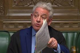 House of Commons Speaker John Bercow holds all the Brexit cards