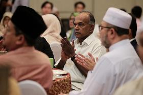 Tough laws needed to fight hate speech, says Shanmugam