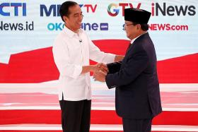 Indonesian President's lead over election rival dips: Survey