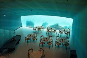 Dine among fish at Europe's first underwater restaurant