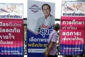 Old foes, millennials stand in way of Thai junta's polls victory
