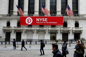 Pinterest files for IPO on New York Stock Exchange