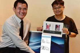 Temasek Polytechnic final-year students showcase innovative apps