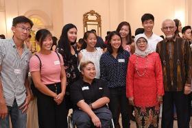 President praises Team Singapore athletes