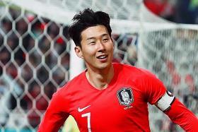 Son scores first goal in 9 games under Bento