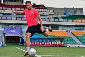Zulfahmi Arifin's extra practice on free-kicks pays off