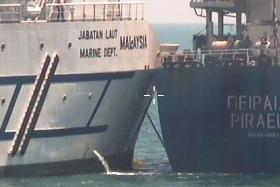 Error by Greek ship caused collision with Malaysian vessel: MPA