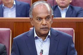 Shanmugam: Pragmatism towards offensive speech only tenable approach